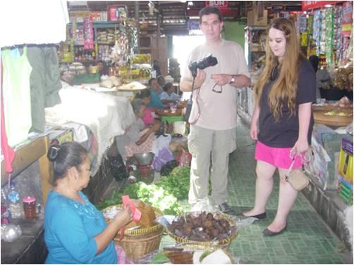 tradisional market in yogyakarta